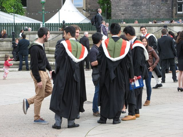 The University of Edinburgh was doing some graduation exercises. Some ...