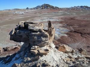 Dakota sandstone near Phobos Peak