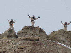 Kiri, Mike, and Darrel on the summit!