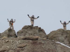 Kiri, Mike, and Darrel on the summit!