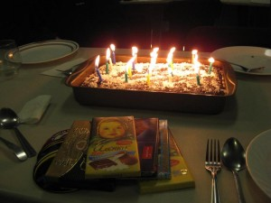 Mike's Famous 21st Flaming Birthday Cake