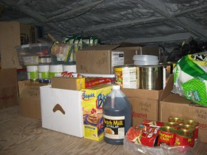 Pantry cleanup in the loft