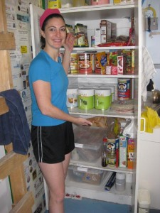 Pantry cleanup for the next crew