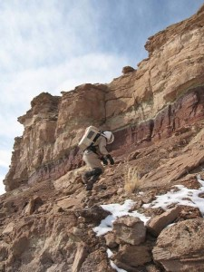 Mike ascends Mt. Sagewood