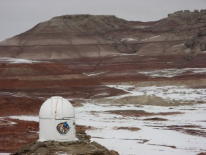 Musk Observatory before Olympus Mons