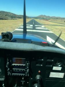 Agua Dulce runway 22